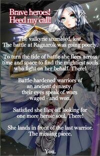 Hall of Valhalla-story
