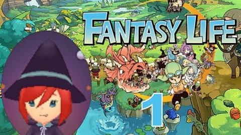 Fantasy Life Let's Play Walkthrough 1 - Character Creation And A Bullied Butterfly!?