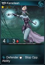 Karadaan card level 1