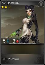 Demetria card level 2