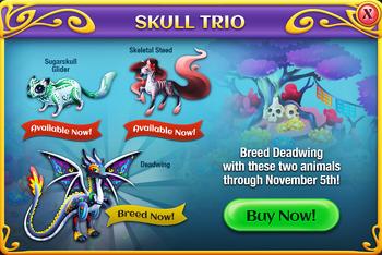 The Skull Trio