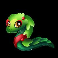 Garland Snake Baby