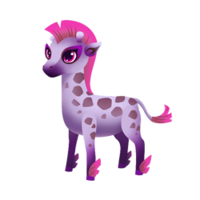 Pygmy Giraffe Juvenile