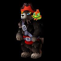 Black Bear'd Adult