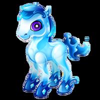 Aquamarine Pony Juvenile
