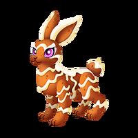 Gingerbread Bunny Adult
