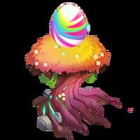 Tye-Dye Tiger Egg