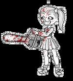 Zombie hunter cheermonger f