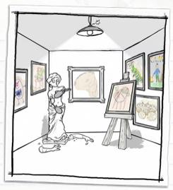 Student Art Gallery