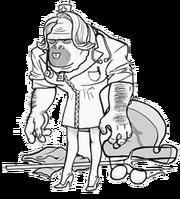 Ervin costume nurse sascha