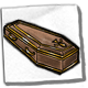 Icon dorm linens coffin bed