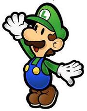 Paper Luigi(Lily8763cp's photo)