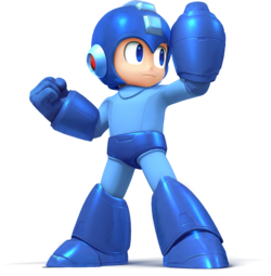 Mega Man - Super Smash Bros.