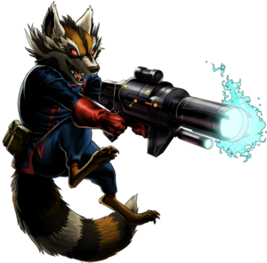 Rocket Raccoon MW2