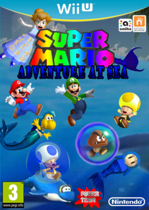 Super Mario Adventure at Sea Boxart