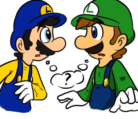 File:Luigi and luigi xd by emeraldwolfs12-d4ohozi.png