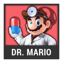 ACL -- Super Smash Bros. Switch character box - Dr. Mario