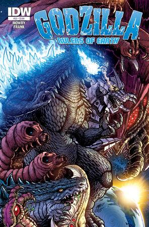 Godzilla - Rulers of Earth