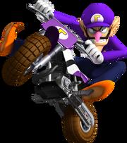 Waluigi - Mario Kart Wii
