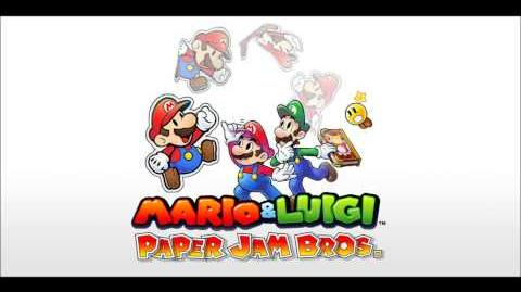 Pokémon Black and White 2 - Mario and Luigi Paper Jam Bros