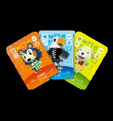 Animal Crossing amiibo Cards - Series 3