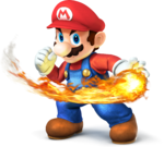 Mario SSB4 Artwork
