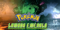 Pokemon Lambda Emerald Version Logo