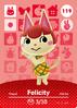 Ac amiibo card s2 felicity
