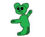 Bowie the Teddy Bear Custom