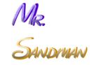 Mr. Sandman Logo