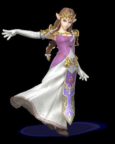 SSB5 Zelda