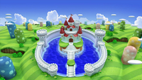 Peach's Castle Stage SSBA