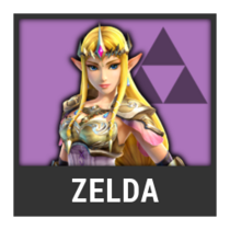 ACL -- Super Smash Bros. Switch character box - Zelda