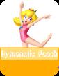 Gymnast Peach MR