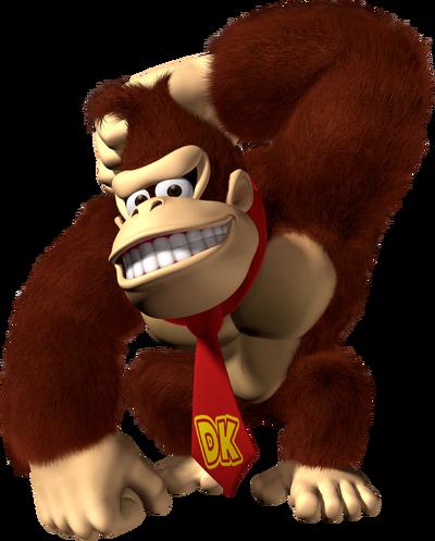 Donkey Kong Artwork (alt) - Mario Party 8