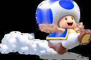 Toad Running Artwork (alt) - Super Mario 3D World