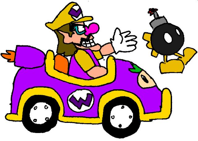File:Wario Kart.png