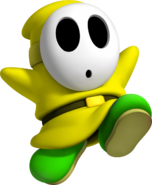 Yellow Shy Guy
