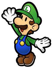 Paper Luigi Time