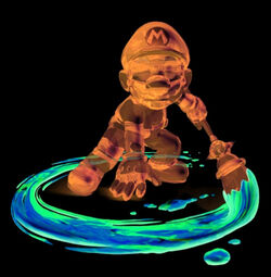 Graffiti Runner (Mario Form)