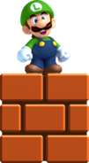 Mini Luigi Artwork - New Super Luigi U