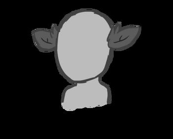 Short Fawn- Ears