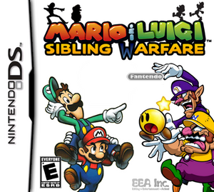 Mario & Luigi Sibling Warfare Boxart