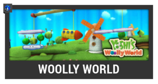 ACL -- Super Smash Bros. Switch stage box - Woolly World
