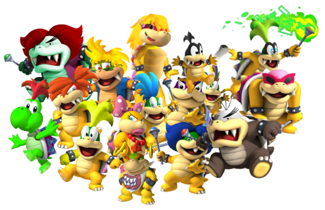 File:All 15 Koopalings.png