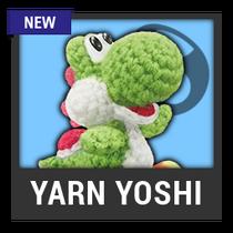 ACL -- Super Smash Bros. Switch character box - Yarn Yoshi