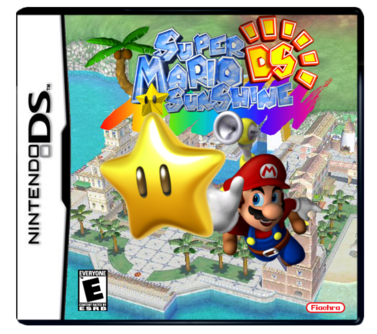 Super mario sunshine ds box art 1 by darkacguy-d8h6ex0