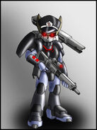 Sonic satam combat robian 2 by zeiram0034