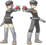 HeartGold SoulSilver Team Rocket Grunt