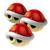 Triple Red Shell - Mario Kart 8 Wii U